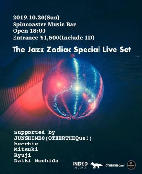 10/20(Sun) The Jazz Zodiac Special Live Set