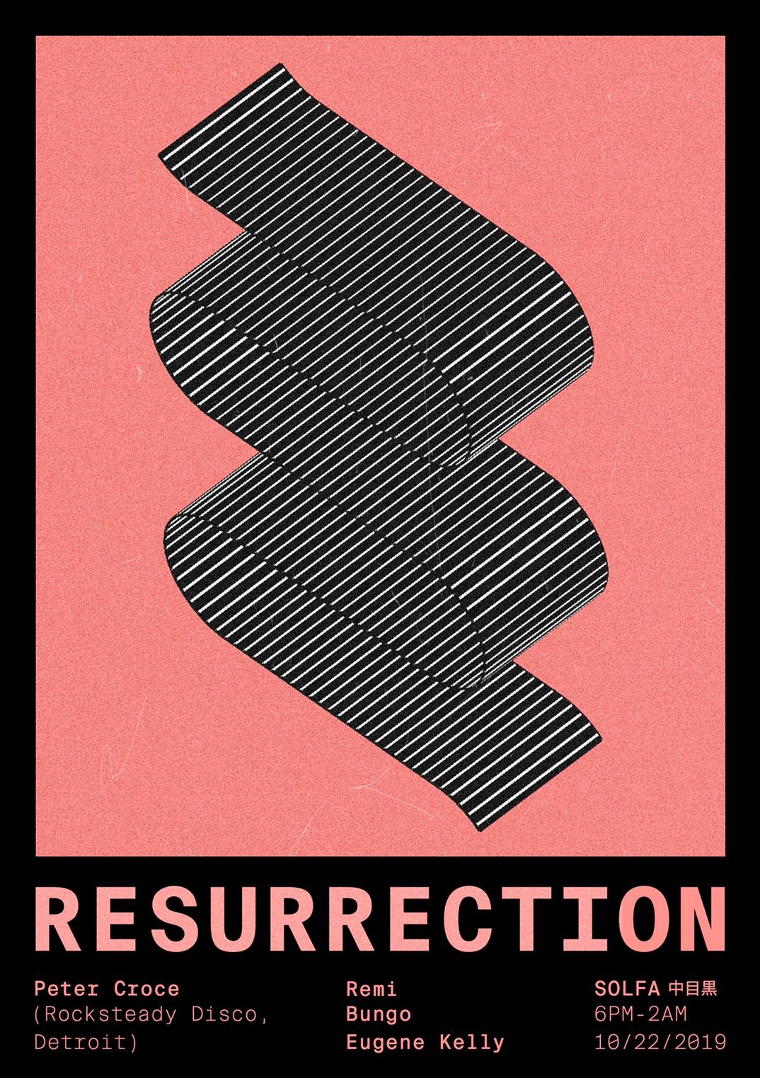 Resurrection: feat. Peter Croce (Rocksteady Disco, Detroit)