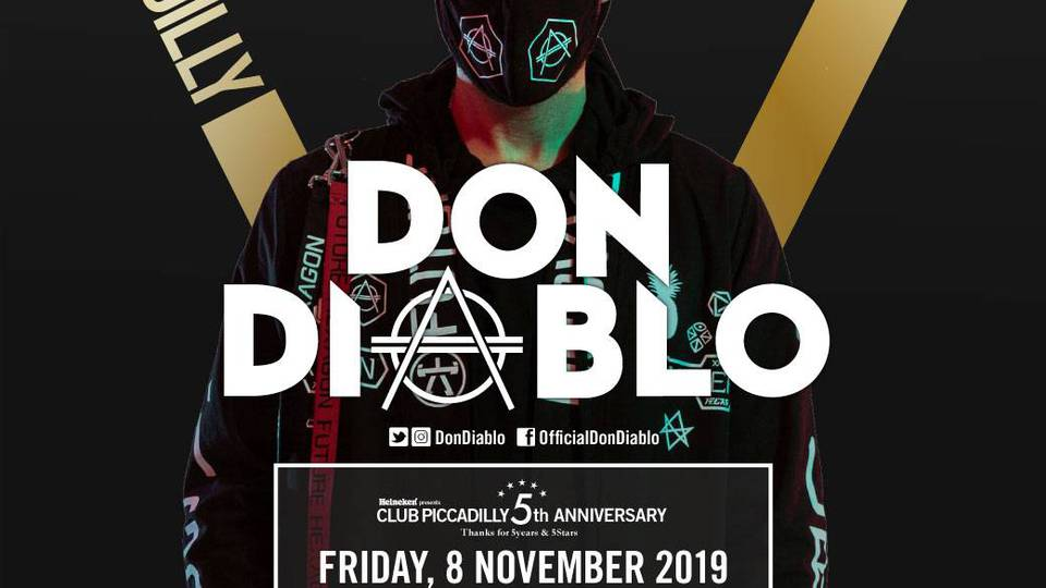 500人限定【未成年OK DAY PARTY】11/8 (fri) 18:00-21:30 DON DIABLO Japan Tour supported by PLUR BEACH FES CLUB