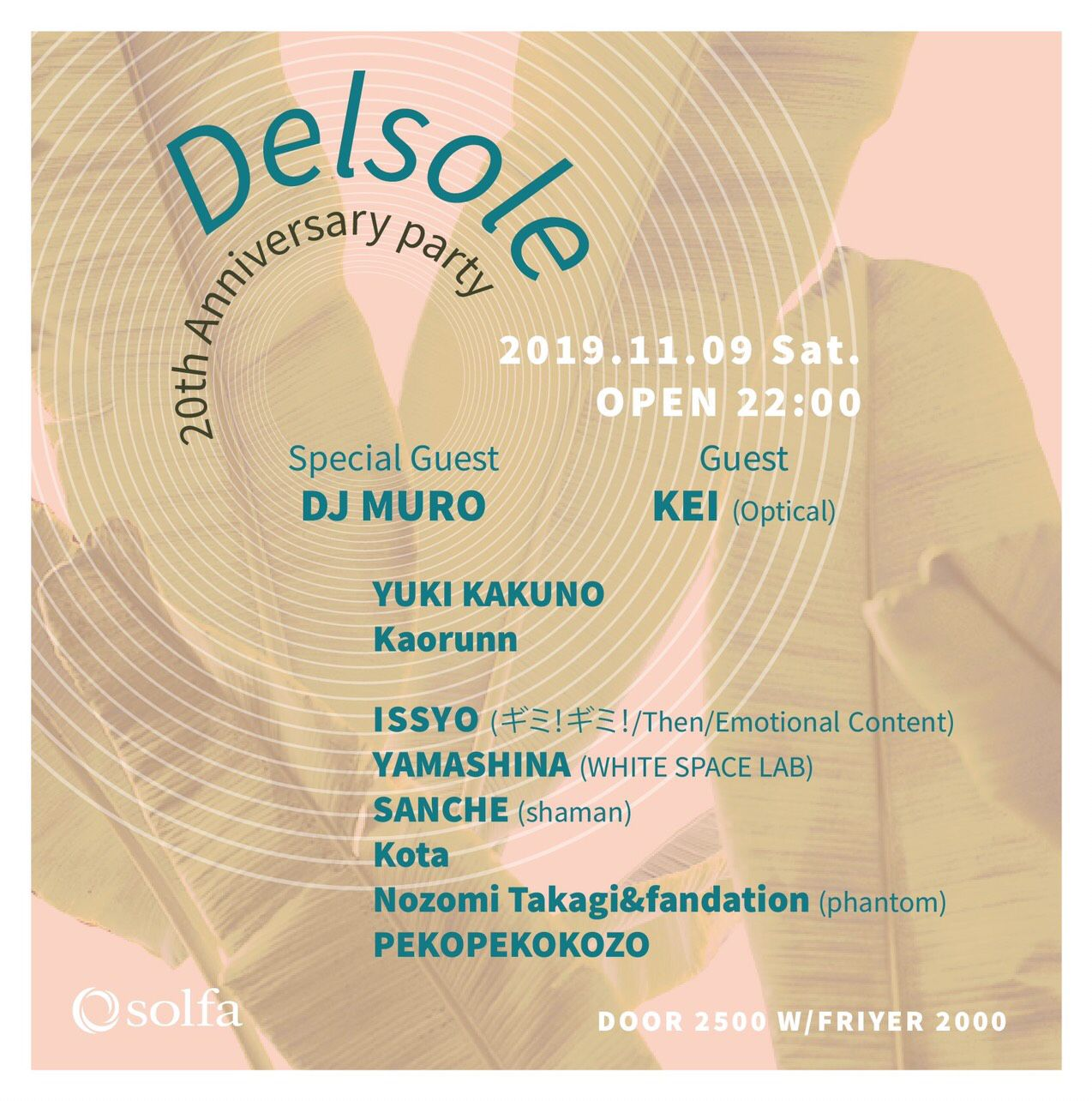 DELSOLE -20th Anniversary -