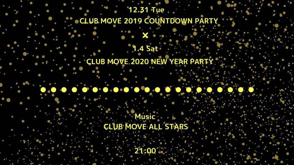 CLUB MOVE 2020 NEW YEAR PARTY