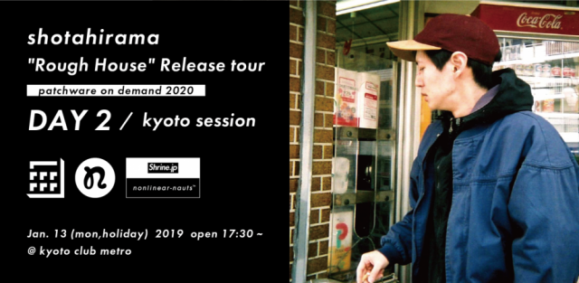 "Shotahirama ""Rough House"" Release tour"