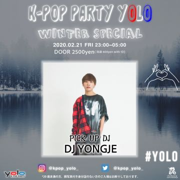 "K-POP PARTY ""YOLO"""