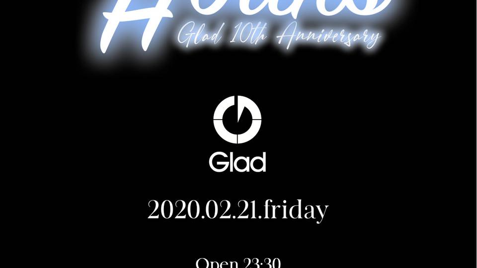 HOURS -Glad 10th Anniversary-