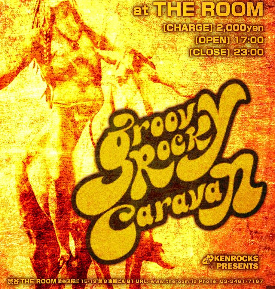 "大貫憲章 presents ""GROOVY ROCK CARAVAN"""