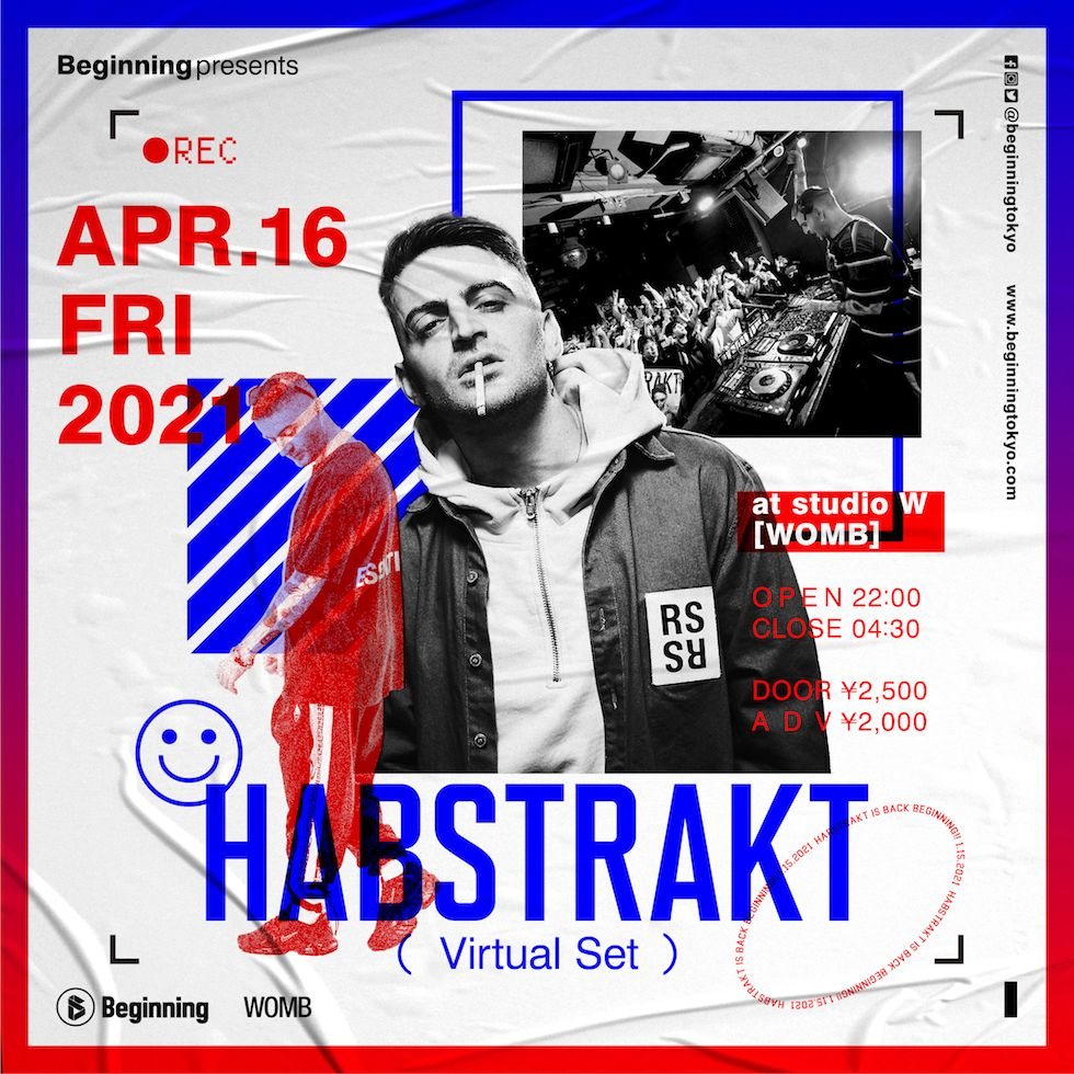 studio W-Beginning presents Habstrakt Virtual Set Show-