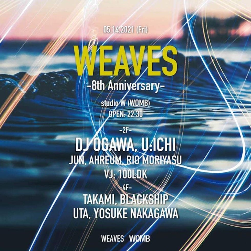studio W-WEAVES 8th Anniversary-