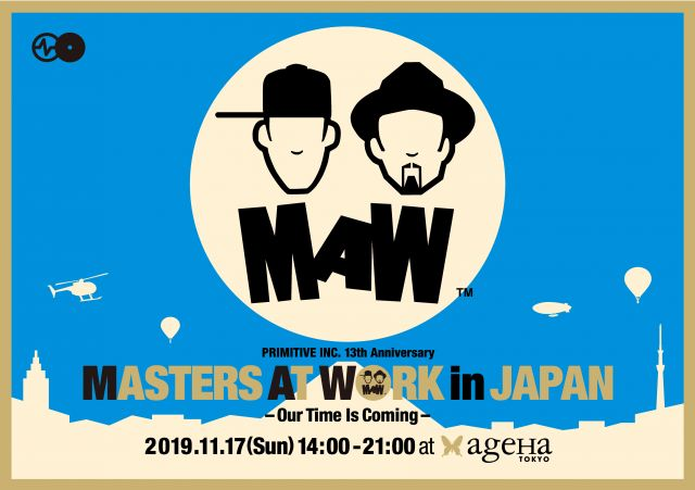 MASTERS AT WORK in JAPAN 今年も開催決定!