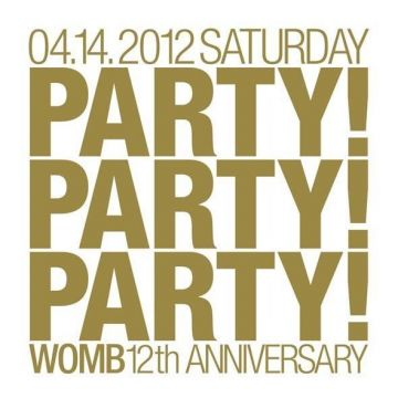 WOMBが12周年