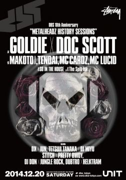 「DRUM & BASS SESSIONS」が18周年。GOLDIE x DOC SCOTTが実現