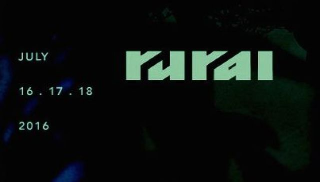 「rural 2016」出演アーティスト第3弾発表。Mika Vainio、Cio DO'r、GONNOら