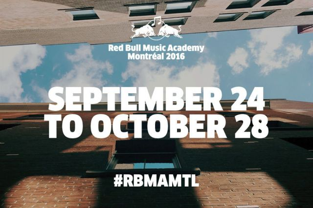 日本からCrystal/Sparrows、Keita Sanoが参加。「Red Bull Music Academy 2016 Montreal」の参加者70名が決定。