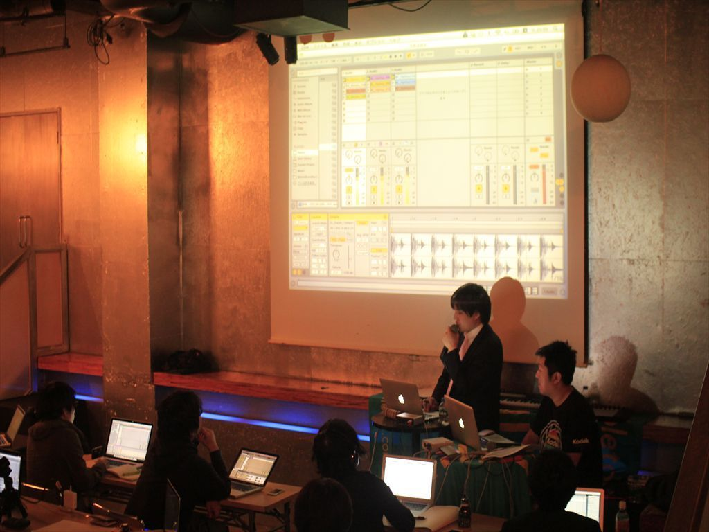 Ableton Live Workshop @ WOMB LOUNGE