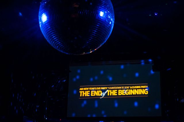 "AIR NEW YEAR'S EVE PARTY ""COUNTDOWN TO 2016"" & CLOSING PARTY THE END OF THE BEGINNING"