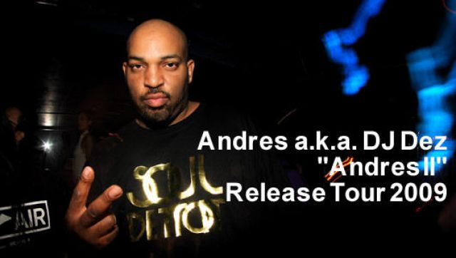 "Andres ""Andres II"" Release Tour 2009(4/11)"
