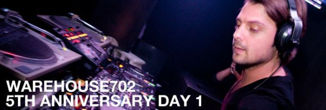 WAREHOUSE702 5th Anniversary DAY1 AXWELL -RETURN TO THE 702-